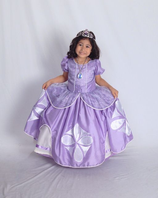 sofia the first birthday party dress | Sofias dress | Little Cutee ...