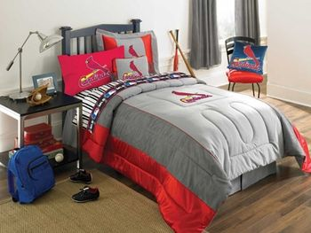 St Louis Cardinals Mlb Authentic Bedding Baseball Bedroom