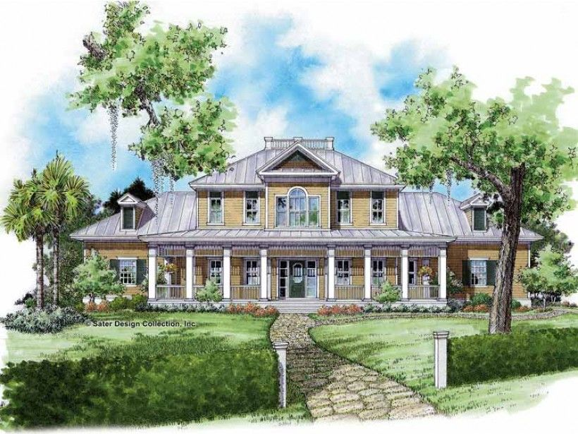 Eplans Farmhouse House Plan New South Country Cottage