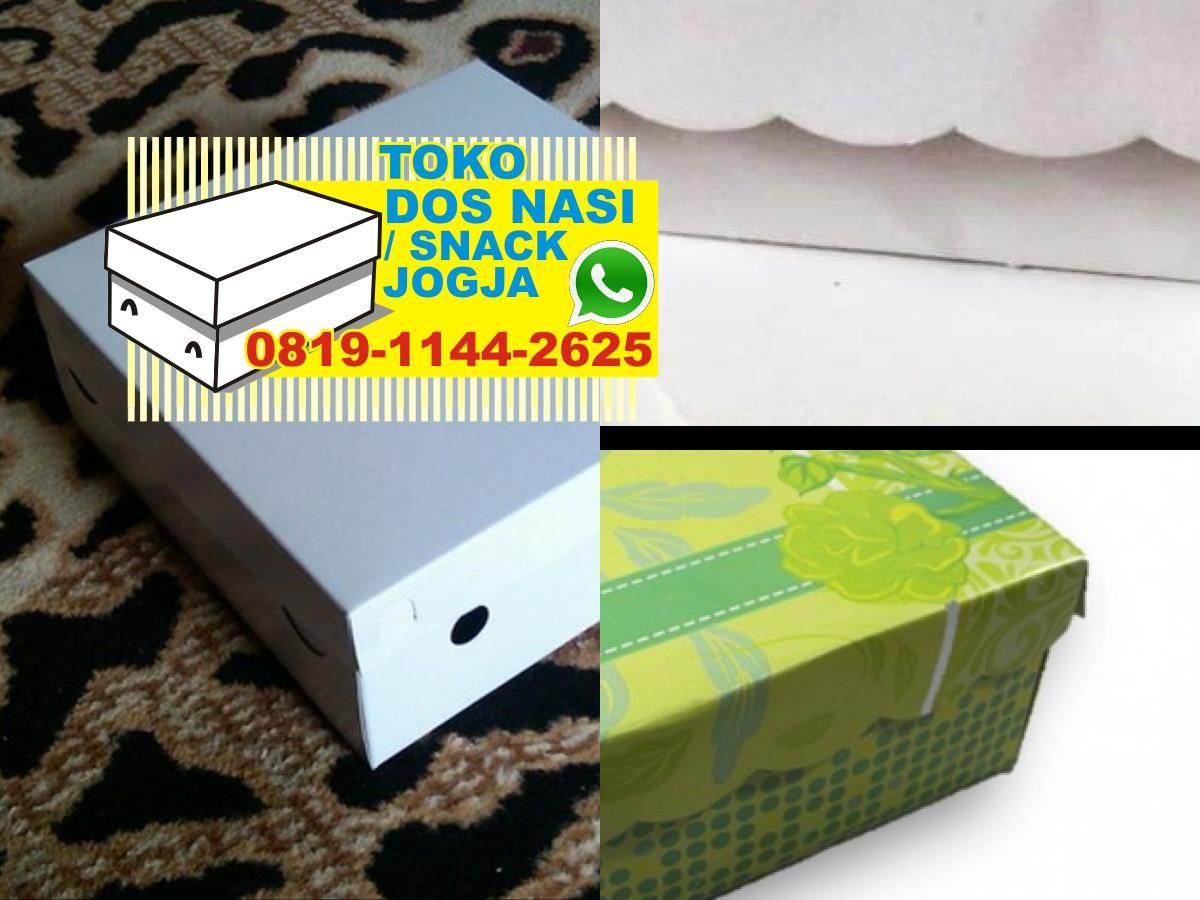 Harga Kardus Kotak Snack Kotak Nasi Sekat Kotak Snack Ultah Toko
