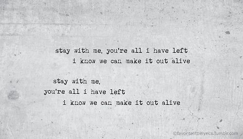 into the nothing, faded and weary..   Music   Pinterest   Lyrics and ...