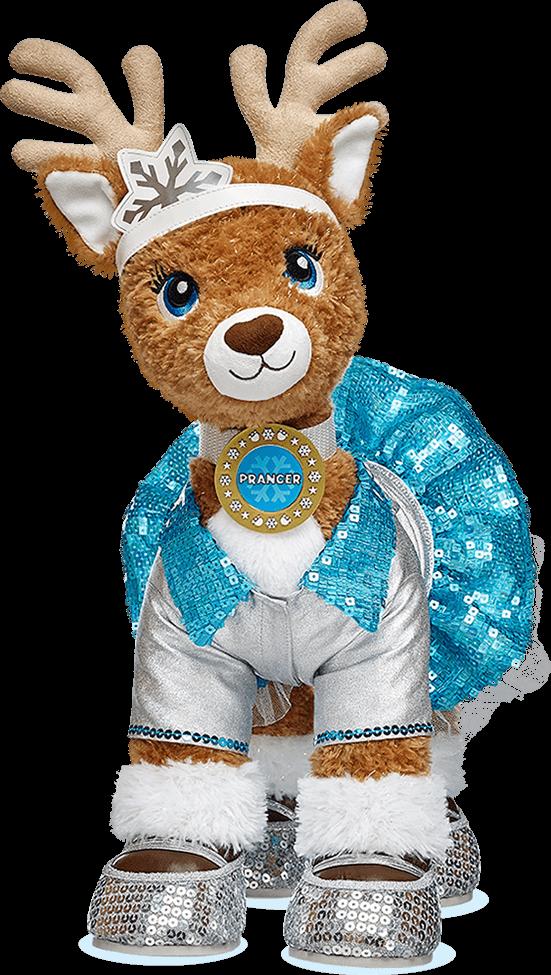Merry Mission At Build A Bear Build A Bear Reindeer Bear Stuffed Animal Teddy Bear Cartoon