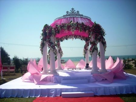 Image result for Lotus mandap decorating ideas