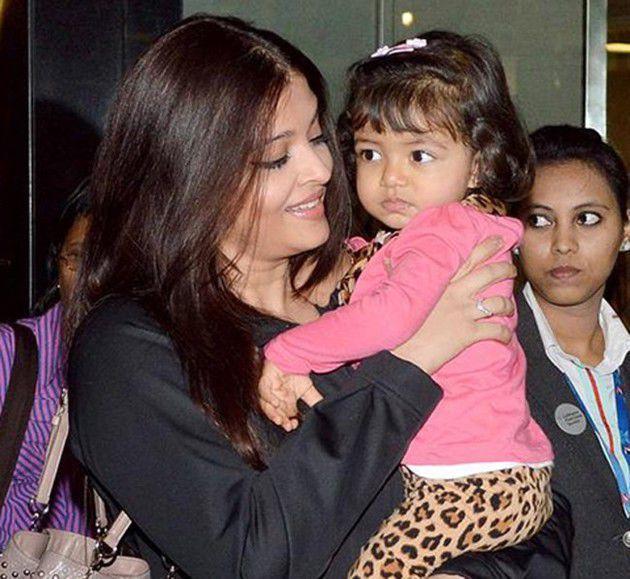 Aaradhya Баччан недавно отметила день рождения-2.