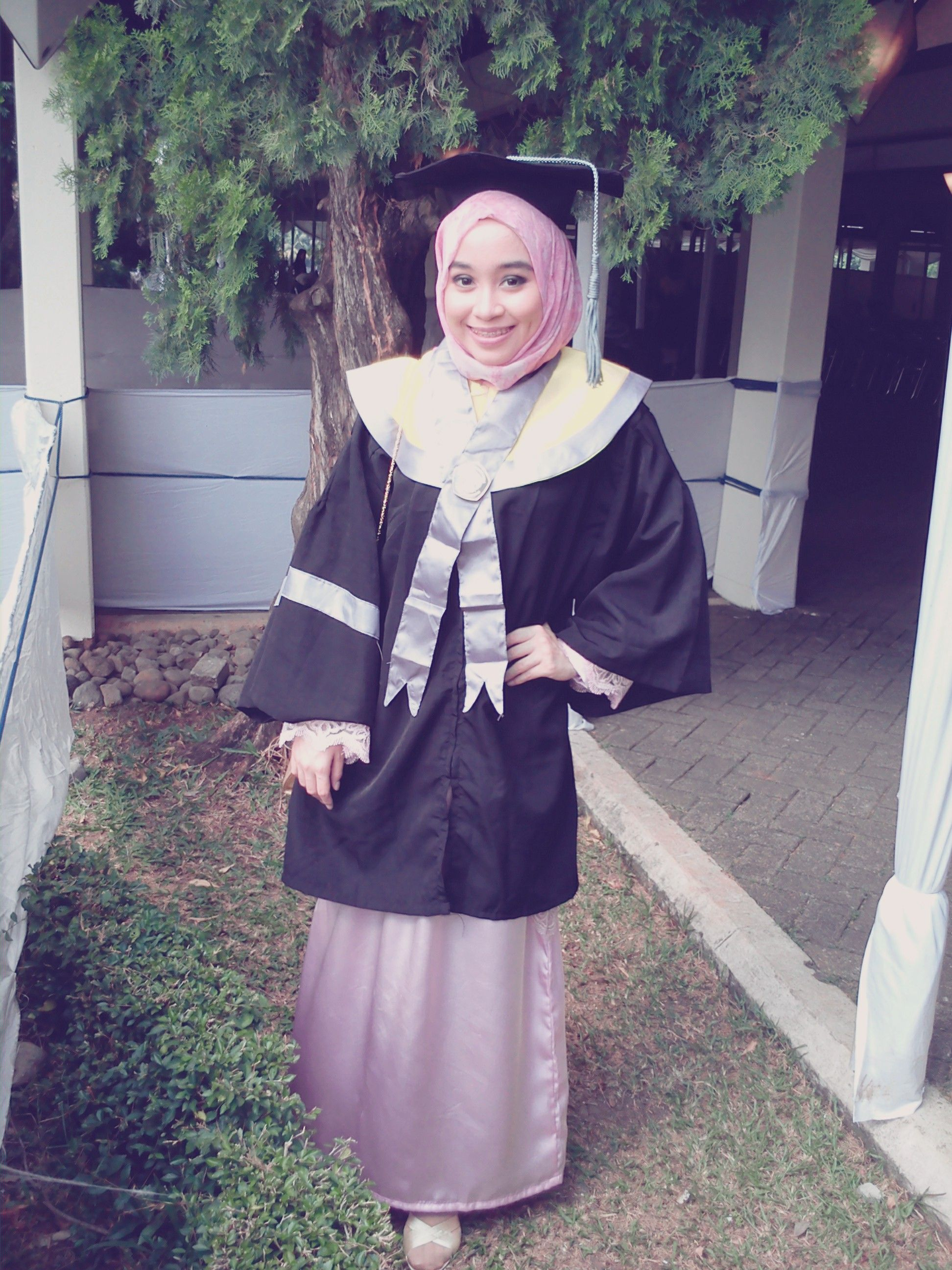 Graduation style in Hijab | Hijab and Muslim Fashion | Pinterest | Muslim fashion and Fashion