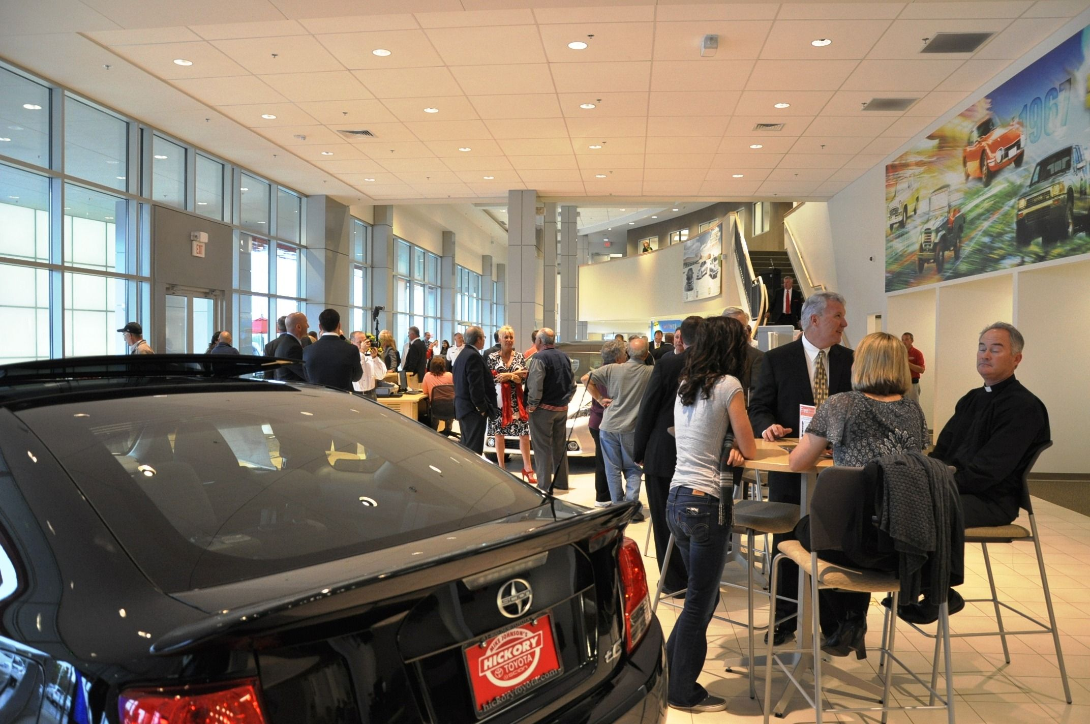 Toyota Of Hickory >> Busy With Amazing Customers Remember Before You Buy Give Mike A