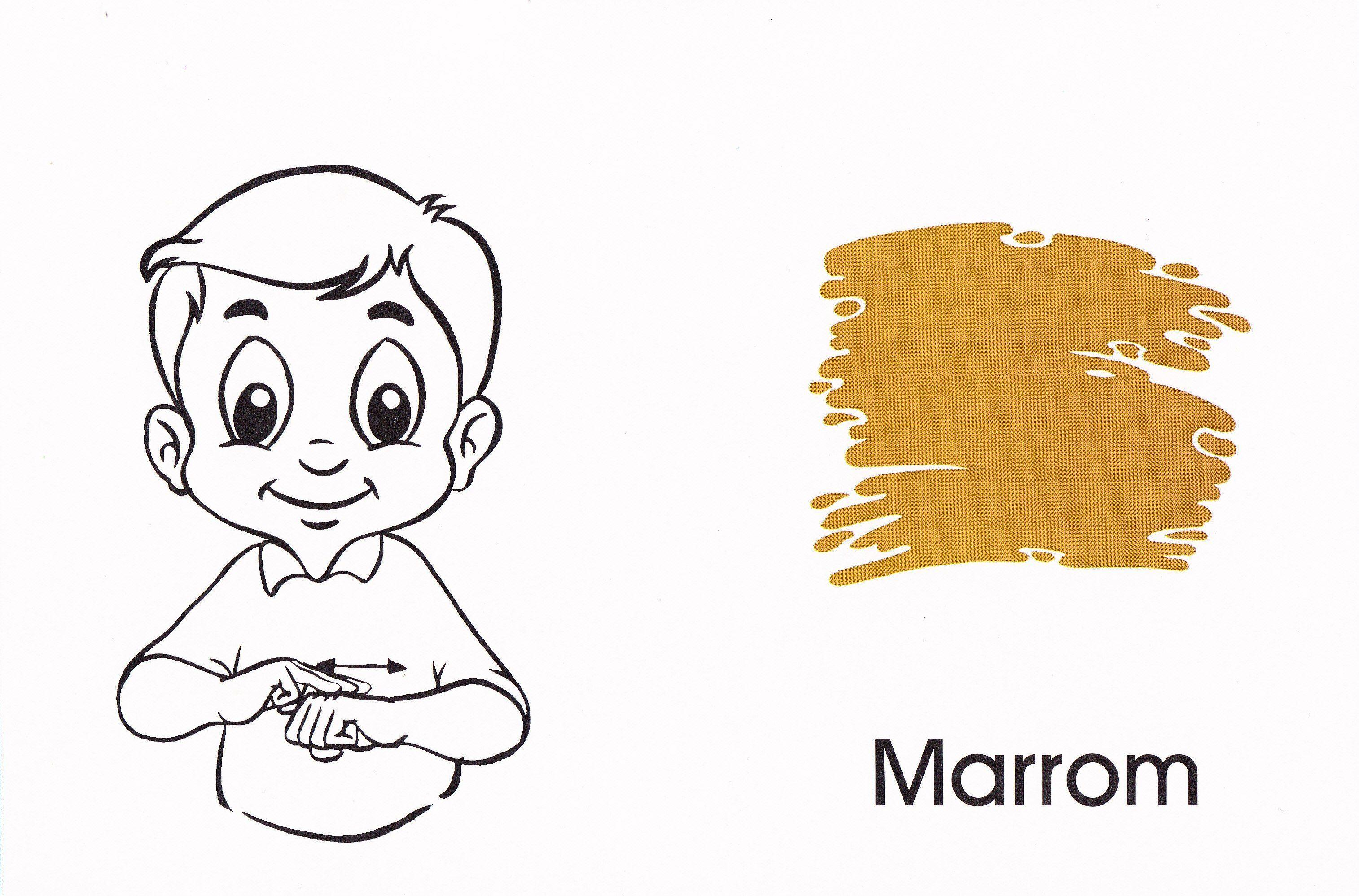 Arquivo apos.cores.doc enviado por Adriano na Unifebe. Sobre: é uma atividade e com a imagem das cores em libras