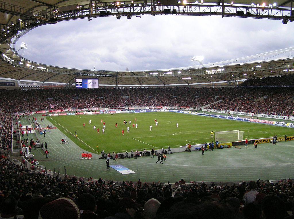 Mercedes-Benz Arena, Stuttgart, Baden-Wurtemberg, Alemania - mega k chenmarkt stuttgart