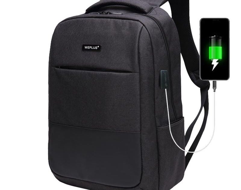 1e162d605982 Discount This Month WEPLUS USB Charging Backpack Men Multifunction Laptop  Shoulder Bag for Teenager Anti Thief Travel Backpack Male Female Mochila   phone   ...