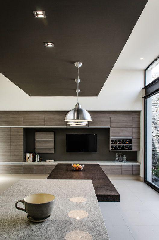 Galer a de casa agr adi arquitectura y dise o interior for Cielorrasos de casas