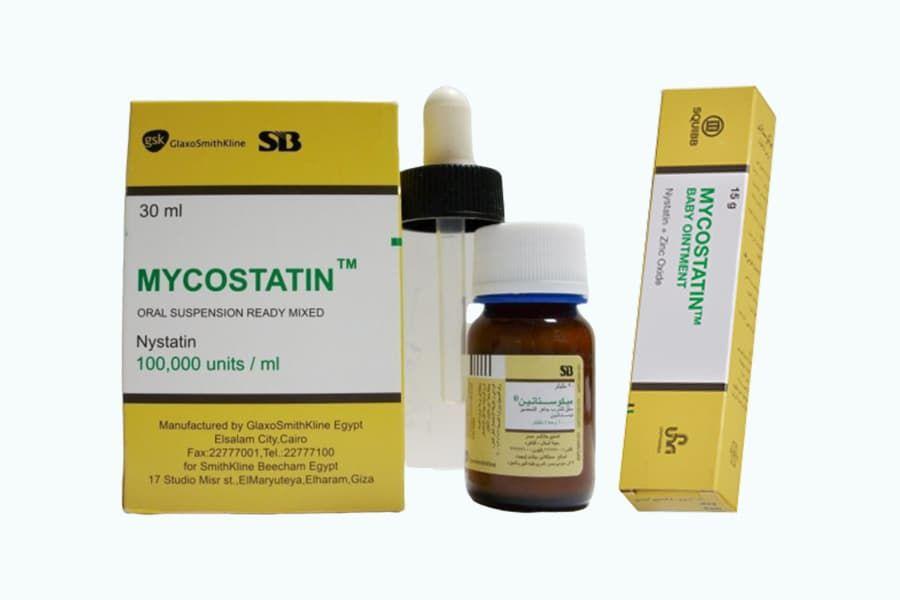 ميكوستاتين Mycostatin Ointment Shampoo Bottle Bottle