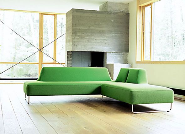 Superior Swedish Furniture Designers: Contemporary Scandinavian Furniture Design Ugo  Green Home Interior