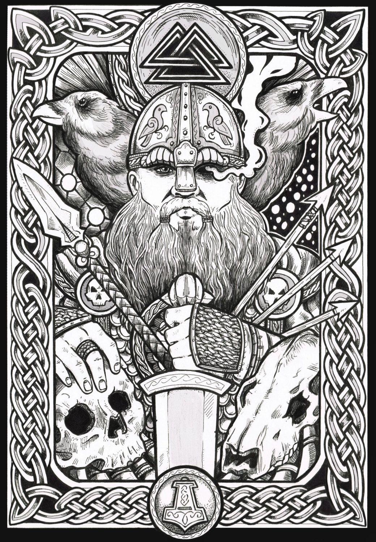 pingl par ouin ouin sur vikings mythologie nordique vikings et celtique. Black Bedroom Furniture Sets. Home Design Ideas
