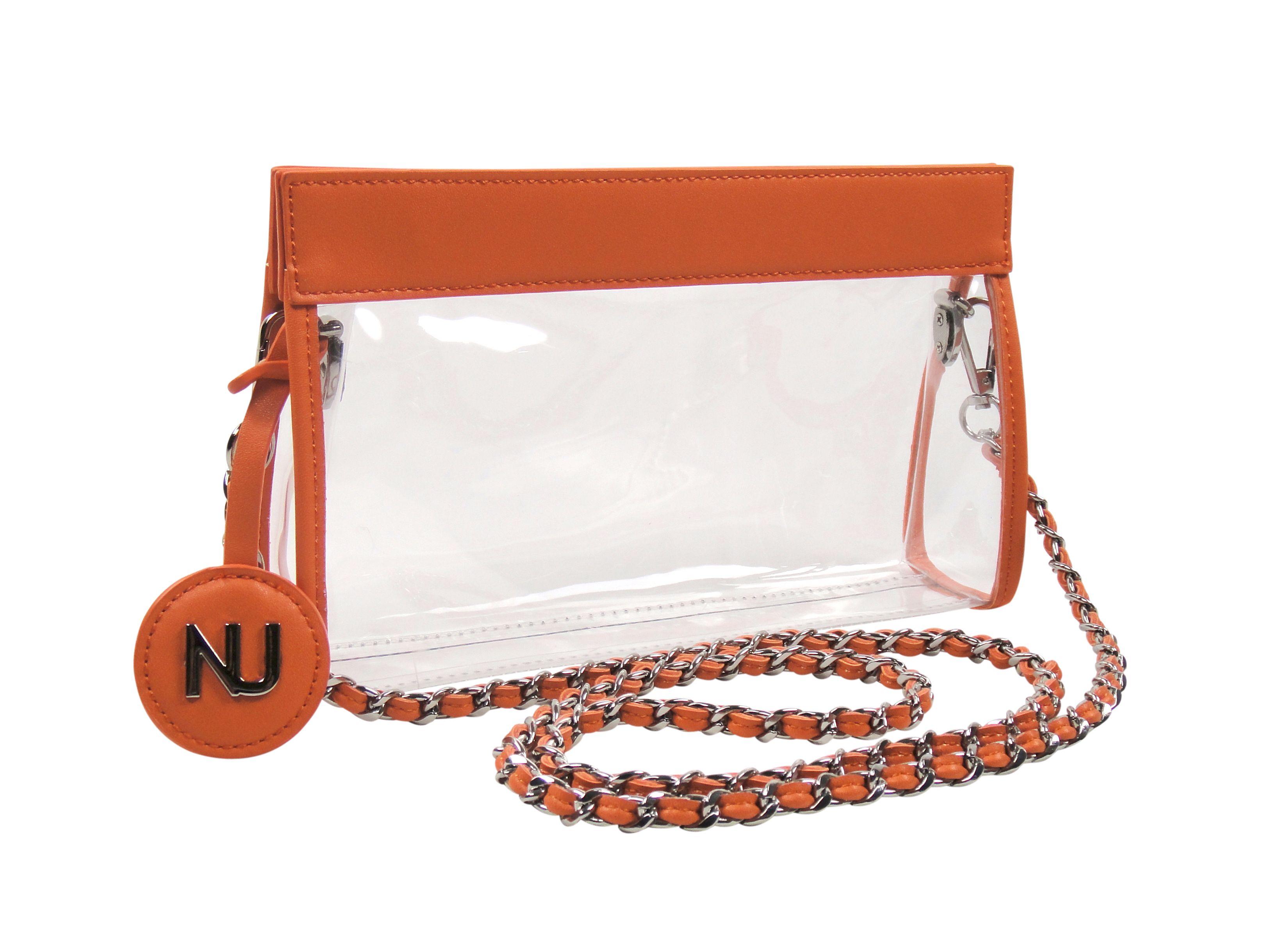 ca2969d282b4 Clear Handbag Purse /Clear Stadium Purse / NU Women Handbags / Clear ...