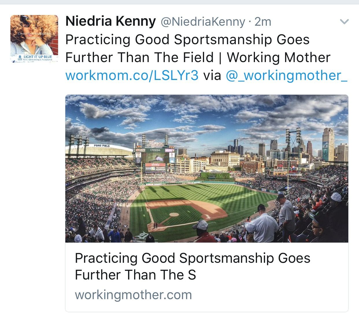 Practicing Good Sportsmanship Goes Further Than The Field | Working Mother workmom.co/LSLYr3 via @_workingmother_