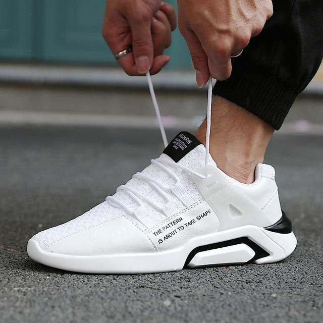 Hot Sale Men 2018 Red Running Shoes Breathable Men Sport Shoes Fitness Sneakers Outdoor Tra Running Shoes For Men Lacing Shoes For Running Black Athletic Shoes