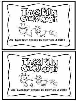 Three Billy Goats Gruff Emergent Reader Reader S Theater