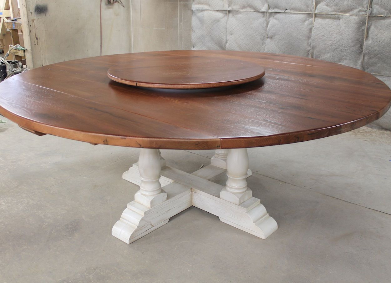 Round Drop Leaf Table Chip And Joanna Gaines Pinterest - Round farm table with leaf