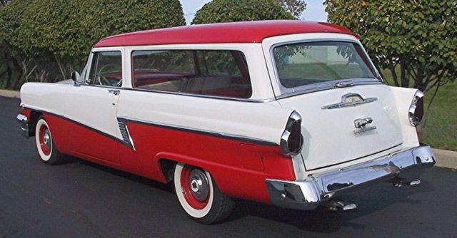 1956 Mercury S 1956 Mercury Custom Wagon Drivers Side