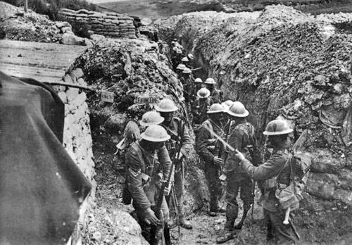 This was life in the trenches WW1   World War I   Pinterest ...