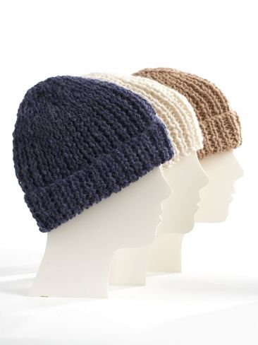 Knit Family Toques | Yarn | Free Knitting Patterns | Crochet ...