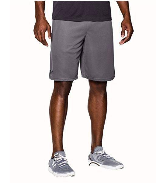"Under Armour Mens UA HeatGear Raid 9"" Loose Fit Gray 2XL Shorts 1253528-064 #Underarmour #Shorts"