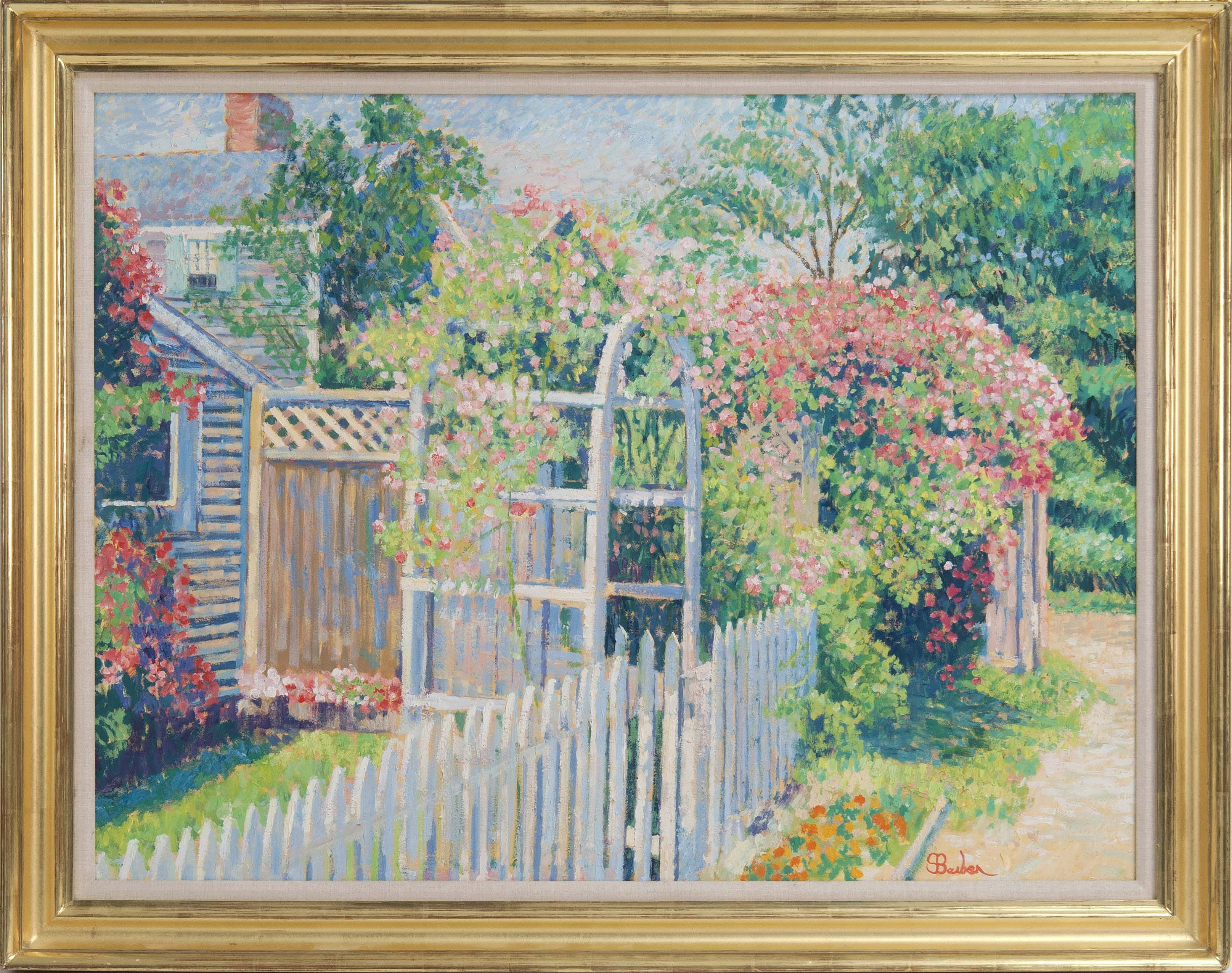 Rose-Covered Cottages, Nantucket,\