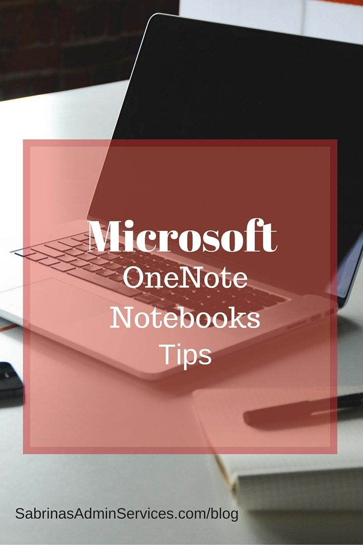 Technology Management Image: Microsoft OneNote Notebooks Tips For Your Small Business