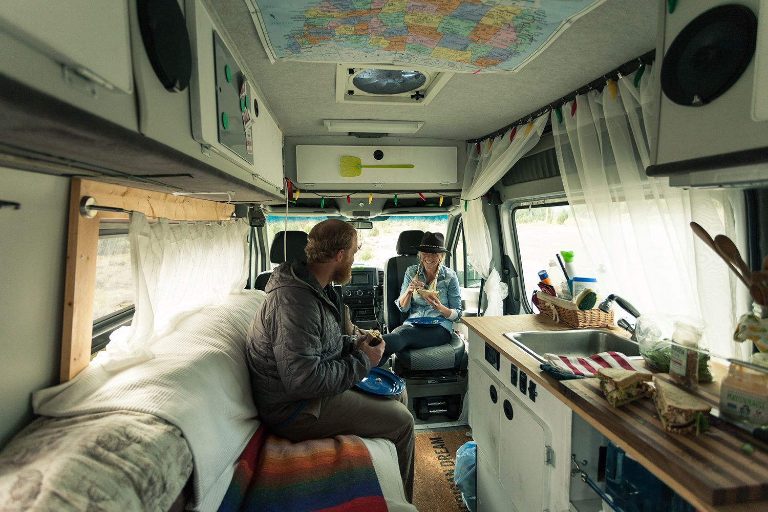 Cooking in Small Spaces | Bus remodel, Van life and Rv campers