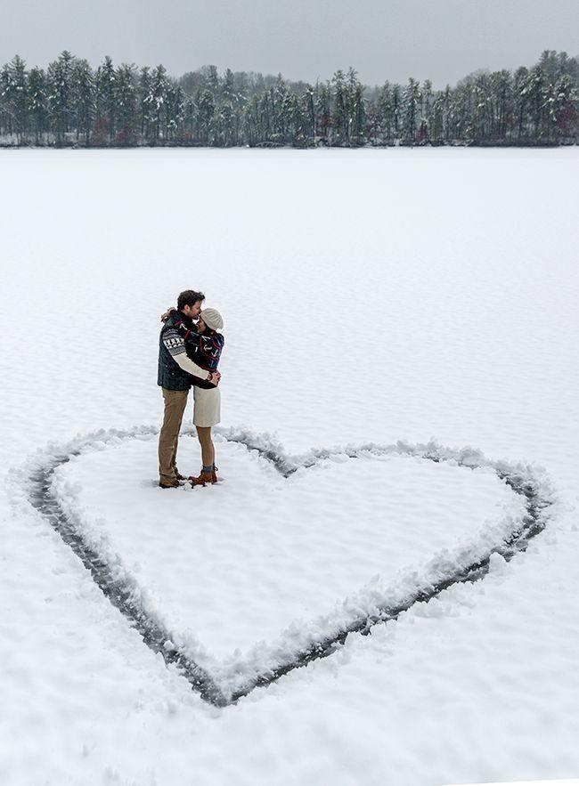 25 lindas fotos de pareja nuevas este invierno