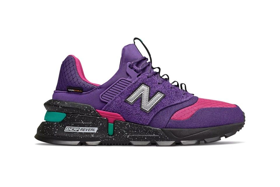 New Balance 997 Sport Prism Purple with Carnival #sportswatches