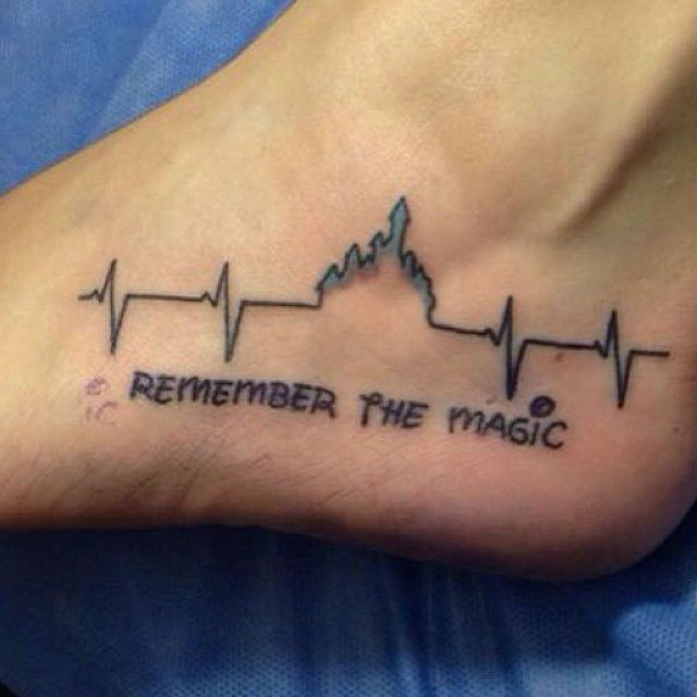 """Disney Themed Tattoos: """"Remember the magic"""" Much cuteness"""