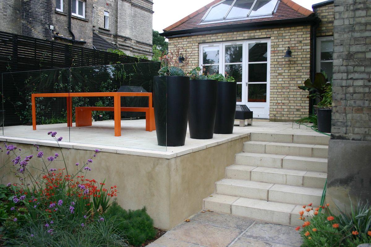 raised patio ideas raised bluestone patio garden ideas stone steps raised patio - Raised Patio Ideas