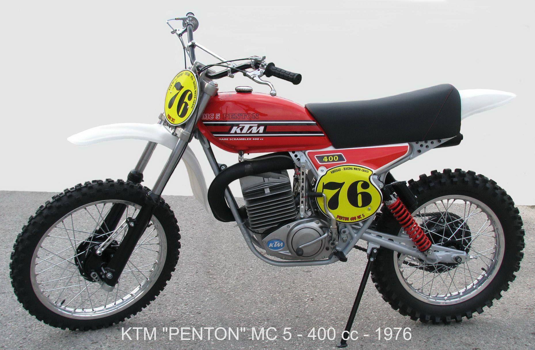 Ktm Mc5 400 1976 Ktm Dirtbikes Bike
