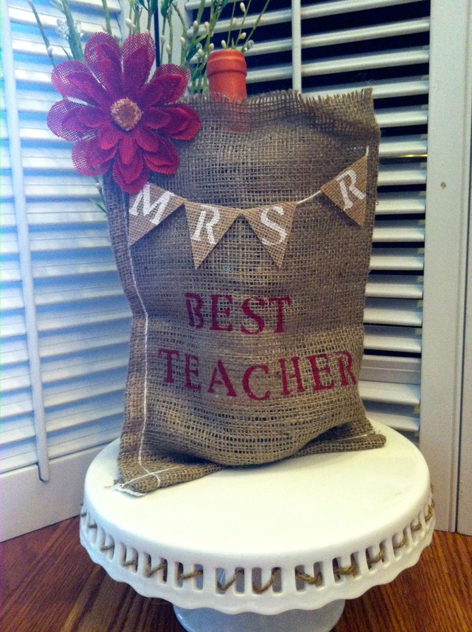 Best teacher wine bag gift teacher appreciation gift end
