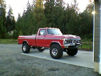 Classic Ford Trucks 1976 Ford F250 High Boy Classictrucks Net