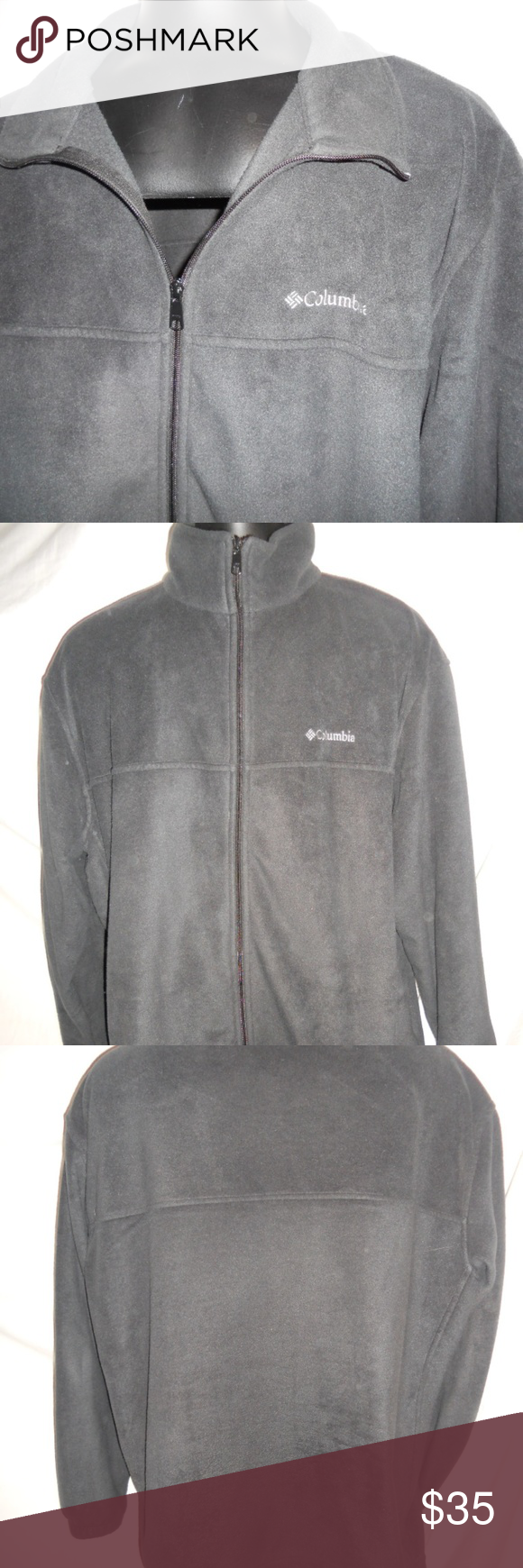 10eb0ebab71 Mens Columbia Black Fleece Jacket Coat Big 3XL Mens Columbia Black Fleece  Jacket Coat Big 3XL. Jacket is in excellent condition and ready for a new  home.