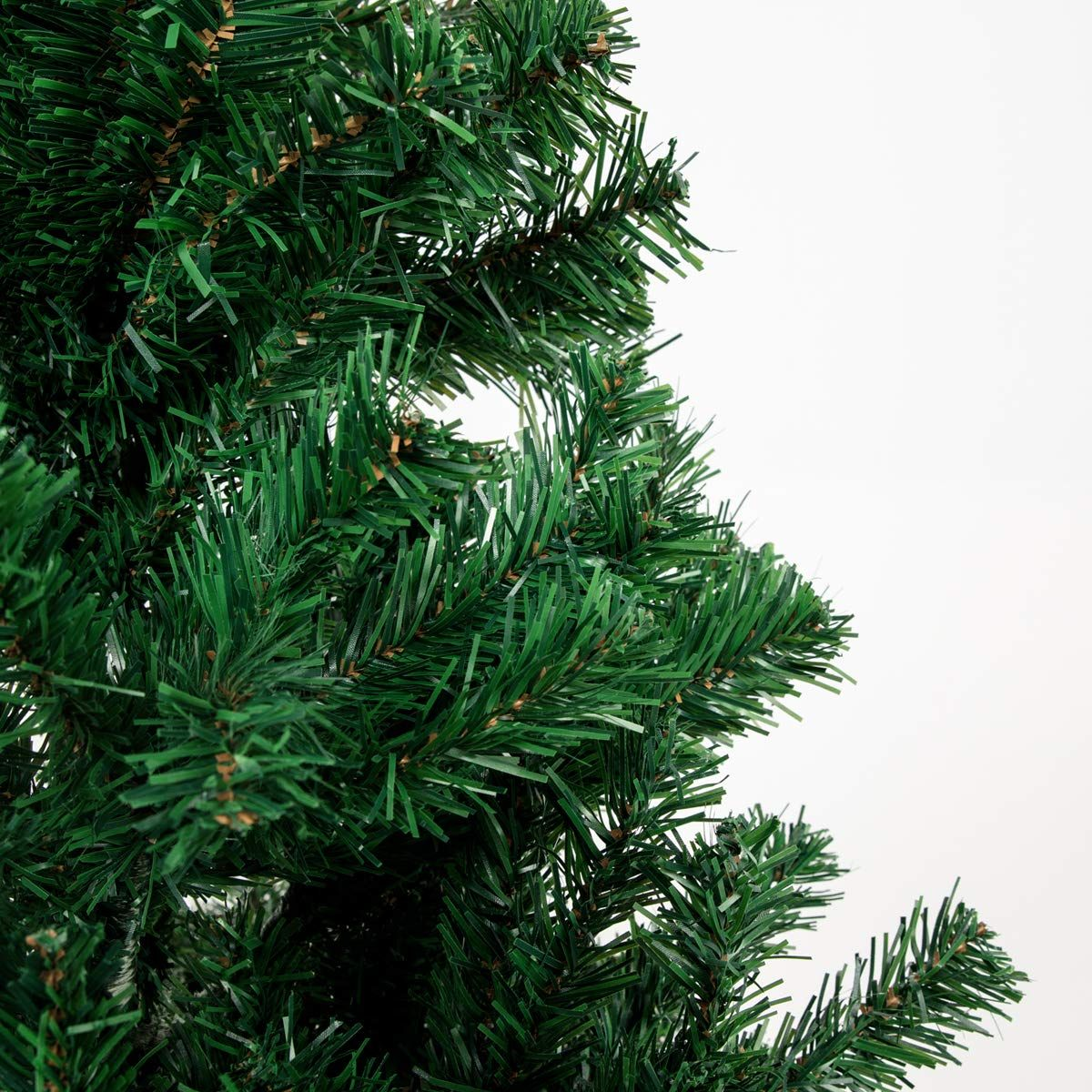 Bocca 8 Ft Christmas Artificial Pine Tree Full Branches With Strong Iron Stand Indoor And Outdoor Green Click On The Image For Addit Tree Christmas Outdoor