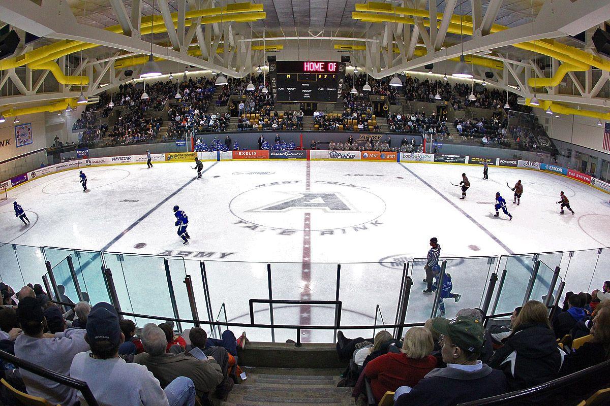 Army Black Knights, Tate Rink, West Point, N.Y. Hockey