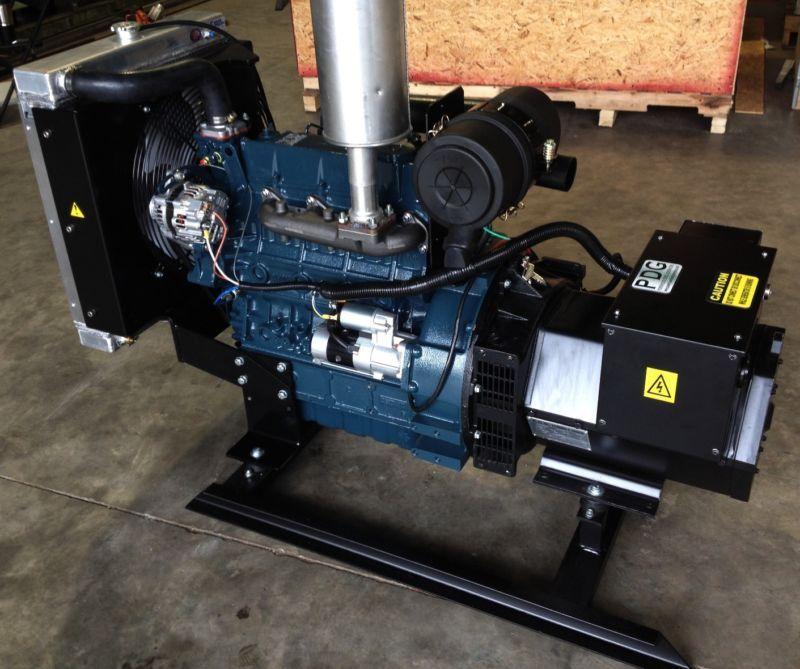 Rv Diesel Generator >> 30 Kw Diesel Generator Kubota New Kubota Generator Diesel Rv