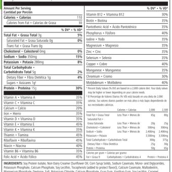 Herbalife Protein Powder Reviews Ingredients Nutrition Facts Analysis Herbalife Protein Herbalife Protein Powder Herbalife Ingredients