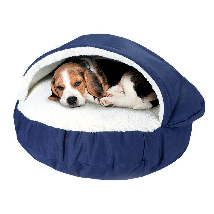 Cave Type Bed Keeps Pets Cozy And Is The Perfect Accent To Any