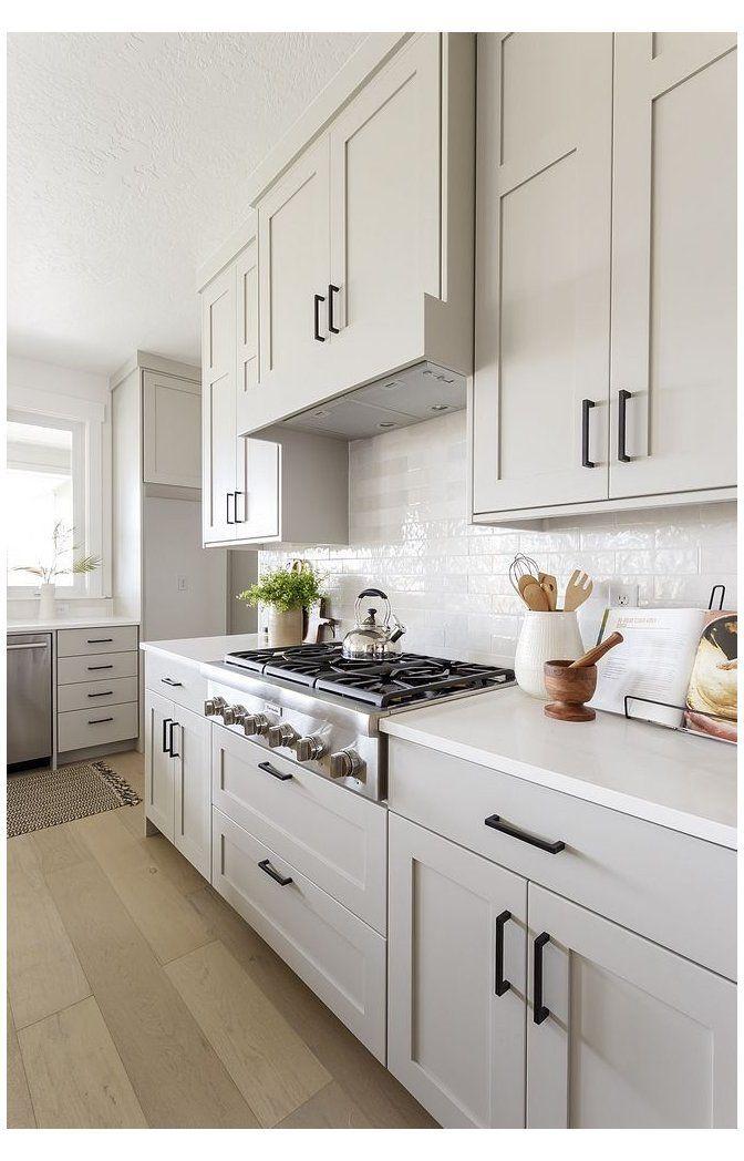 New-Construction Interior Design Ideas  new  kitchen  cabinets  shaker  s… in 2020 | Shaker style ki