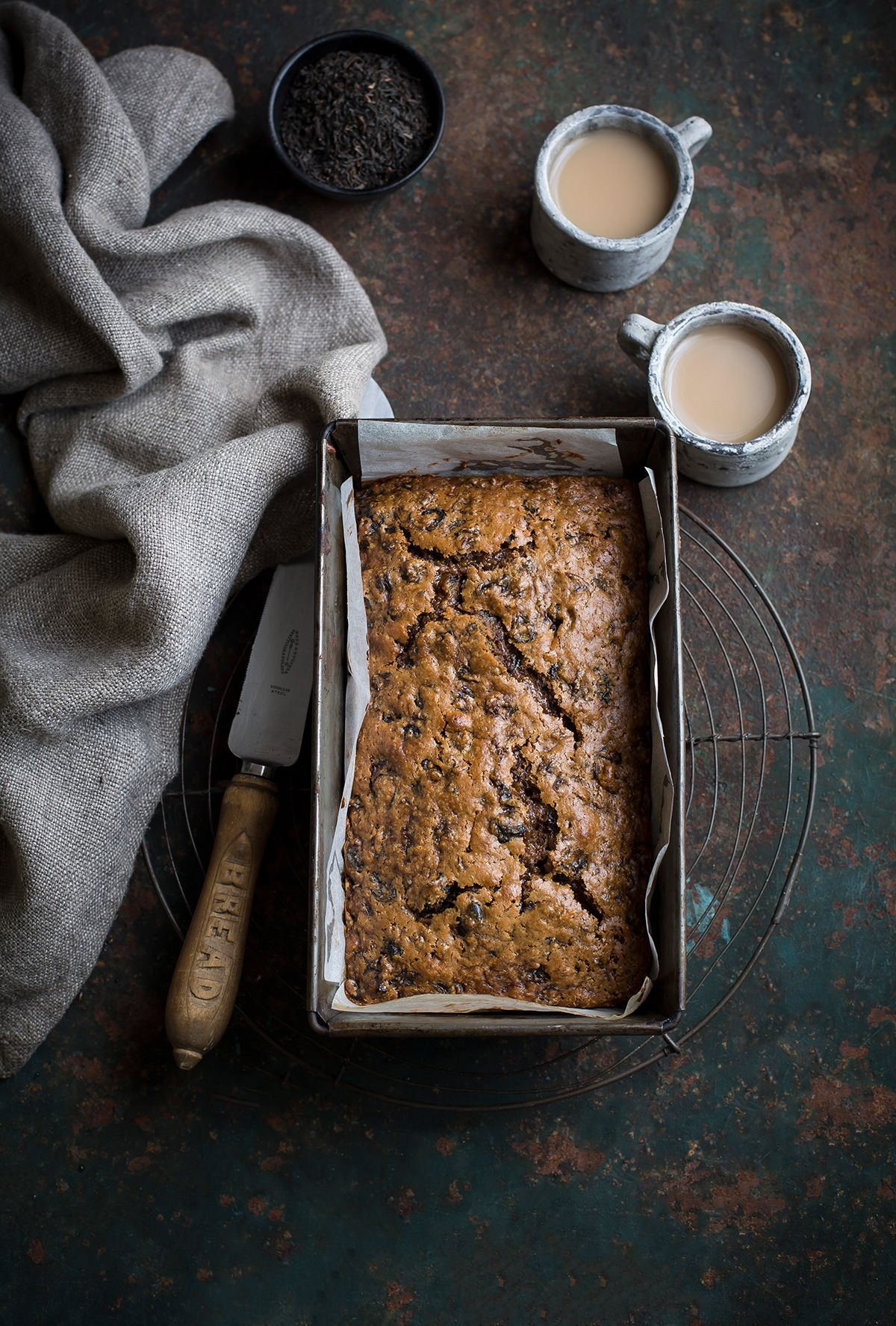 Earl Grey Tea Fruit Loaf Recipe Baking Photography Tea Cakes Food