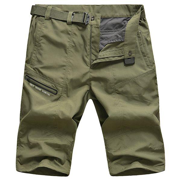 S-Fly Mens Summer Beach Drawstring Sport Elastic Waist Pockets Short Pants