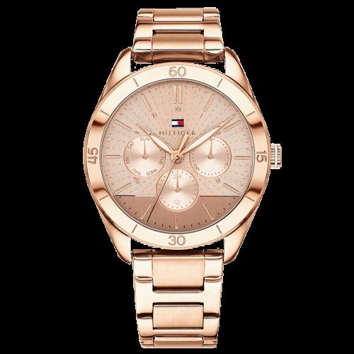 6be168d3479 Relógio Tommy Hilfiger Feminino Aço Rosé - 1781884