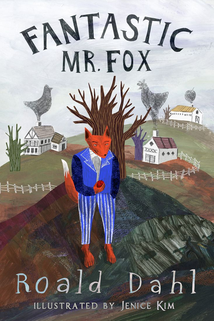 Book Cover Created For Fantastic Mr Fox By Roald Dahl Fantastic Mr Fox Roald Dahl Fox Illustration