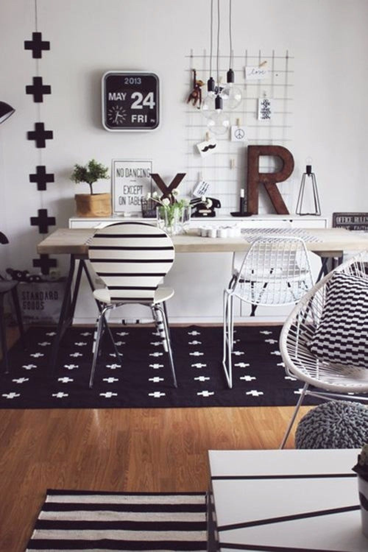 10 inspirações de Home Office com decor branca   escritorio.   Pinterest