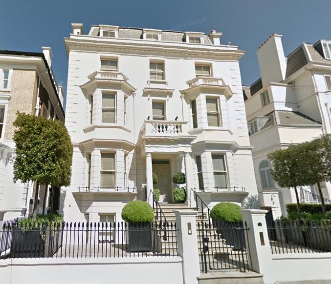 Kensington - Upper Phillimore Gardens - London
