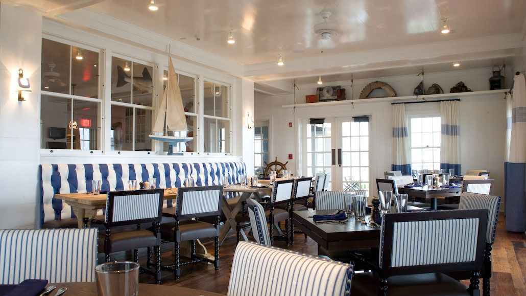 GHYC (Great Harbor Yacht Club), Nantucket. Designer Gauthier Stacy